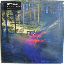 DRENGE LP Undertow 11 Track Vinyl ALbum 2015 + Full MP3 Downloads SEALED New