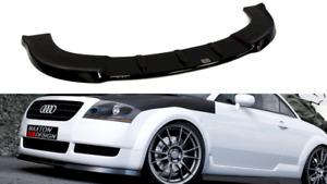MAXTON FRONT SPLITTER FOR AUDI TT MK1(STANDARD BUMPER)(GLOSS BLACK)(1998-06)