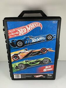 Hot Wheels Molded 2012 48 Car Case Nice Case In Excellent Condition