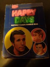 1976 Topps Happy Days 1st Series Unopened Trading Card Box 36 Packs THE FONZ