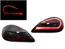 981 Style 09-12 Porsche 987.2 Cayman Boxster Red/Smoke LED Rear Tail Lights 987