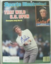 ANDY NORTH signed 1985 US OPEN Sports Illustrated golf magazine AUTO Autographed