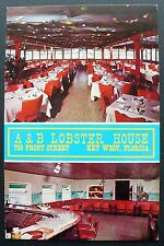 1950s A&B Lobster House, 700 Front St., Key West, Florida