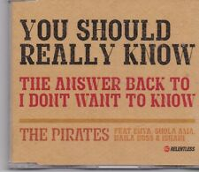 The Pirates-You Should Really Know cd maxi single
