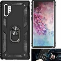 Samsung Galaxy Note 10 Plus case with Kickstand - Metal Ring for Car Mount 10+
