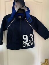 Crew Clothing Boys Waterproof Sailing Jacket Age 4
