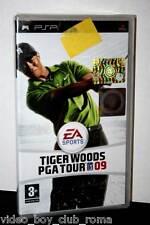 TIGER WOODS PGA TOUR 09 GIOCO NUOVO SONY PSP EDIZIONE ITALIANA PRIMA STAMPA PG