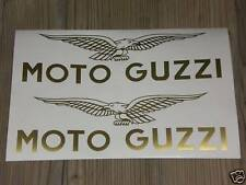 2x MOTO GUZZI Adler Aufkleber Sticker Eagle Tankaufkleber Retro Old School Look