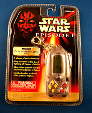 STAR WARS KEYCHAIN ELECTRONIC HANDHELD GIAN SPEEDER CHASE VIDEO GAME EPISODE 1