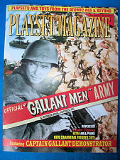 Playset Magazine issue #68 Marx Gallant Men + Captain Gallant demo board playset