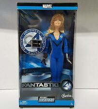 Mattel Marvel Barbie as Sue Storm Invisible Woman Fantastic Four Collectible
