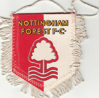 Nottingham Forest Football Club FC FANION WIMPEL PENNANT 80s