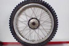 "Bultaco front wheel hub rim Akront 18"" Pursang 360 Sherpa"