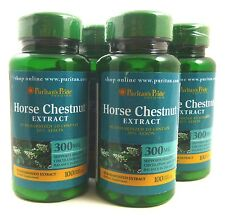 4X Horse Chestnut Standardized Extract 300 mg 100 Caplets Varicose Spider Veins