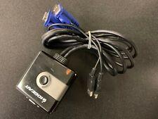 IOGEAR GCS42UW6 2-Port USB KVM Switch