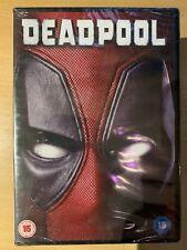 Deadpool DVD 2016 Marvel Universe Superhero Film Movie with Ryan Reynolds