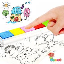 8pcs Children Finger Painting Washable Graffiti Painting Drawing DIY Toy Set