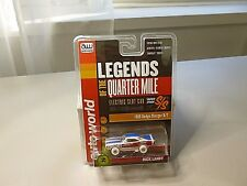 AW LEGENDS OF THE QUARTER MILE 1969 DODGE CHARGER R/T S/S 1/64 SCALE H.O. NEW