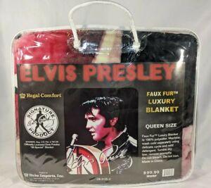 Queen Size Elvis Presley 68 Special Super Plush Fleece Luxury Blanket