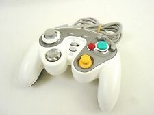 Game Cube RUMBLE RAPID CONTROLLER White Nintendo Cyber Gadget Tested Japan 1413
