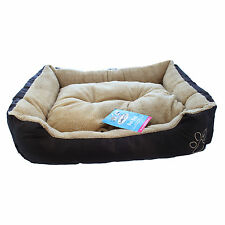 Extra Large Warm Soft Fleece Puppy Pets Dog Luxury Bed Cushion Pillow Mat 75x58