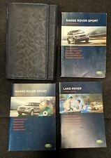 RANGE ROVER SPORT HANDBOOK OWNERS MANUAL WALLET NAVI 2005–2010 PACK L-22