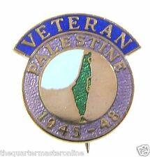 Palestine Veterans Lapel Pin Badge