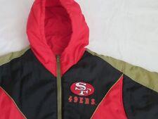 San Francisco 49er ´s Starter Double Sided Winter Jacket NFL Hood USA Size:S Tip