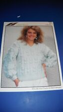 Hayfield Womens Sweater Knitting Pattern 2071