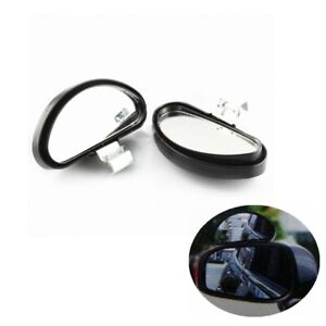 2x Adjustable Blind Spot Car Mirror Driving Instructor Learner Safety Wide Angle