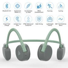 Bone Conduction Headphones Bluetooth 5.0 Wireless Earbuds Outdoor Sport Headsets
