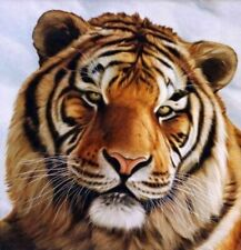 """Hand-painted  oil painting:""""tigers In canvas"""" 24x24 Inch"""