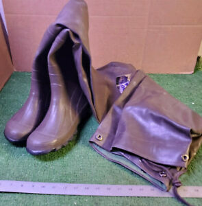 1 NEW PAIR PRO-LINE 904 ALL RUBBER CHEST WADERS SZ 7 NNB ***MAKE OFFER***