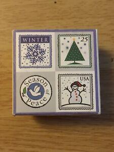 Season of Peace - LL798 - 2002 Hero Arts Stamp Set