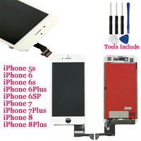 LCD Display Touch Screen Digitizer Assembly Replacement for iPhone 5 6 6S 7 7P 8