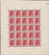 Luxemburg Luxembourg 1921 Charlotte Bogen 25x 15c. postfrisch**MNH superb!!!