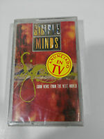 SIMPLE MINDS Good News From The Next World Klebeband Tape Kassette Virgin