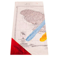"""Art Production Fund Wow Beach Towel Size 70"""" x 60"""" by Julian Schnabel Limited"""