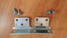 1 PAIR 3COM 4000 SERIES RACK MOUNTING BRACKETS EARS WITH 4 X SCREWS