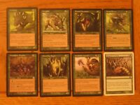Beasts with Silly Names! EDH Commander Tribal Lot, LP-MP, Magic the Gathering
