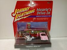 Johnny Lightning American Flashbacks Diorama Mearle's Drive-In Die-Cast Car Set