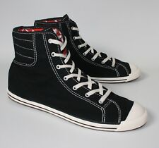 Women's CONVERSE All Star SLIM FIT HI TOP Black Trainers Shoes Sneaker SIZE UK 5