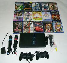 PlayStation 2 + 15 Spiele + Singstar Mikrofone