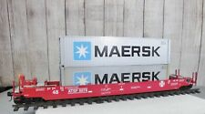 USA TRAINS / SANTA FE INTERMODAL WELL CAR with (2) CONTAINERS