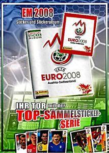PANINI -  FUßBALL - EM 2008 - 100 verschiedene Sticker