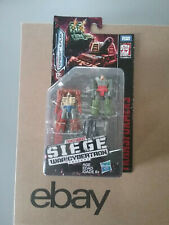 Transformers Siege War for Cybertron WFC  Topshot & Flak NEW