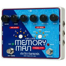 Electro-Harmonix Deluxe Memory Man w/ Tap Tempo 1100 Guitar Effects Pedal