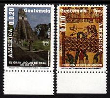 Guatemala -  MiNr.:1302-1303** postfrisch  -Kunst und Brauchtum  - 1989