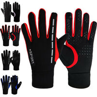Warm Bike Gloves Winter Thermal Warm Full Finger Cycling Glove Touch Screen