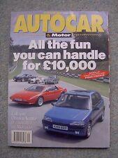 Autocar (19 May 1993) Citroen Xantia, Maserati Ghibli, Mercedes C Class, Impreza